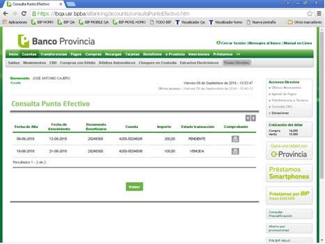 ¿Cómo Hacer Una Consulta De Saldo De Mi Cuenta Corriente En Banco Provincia?