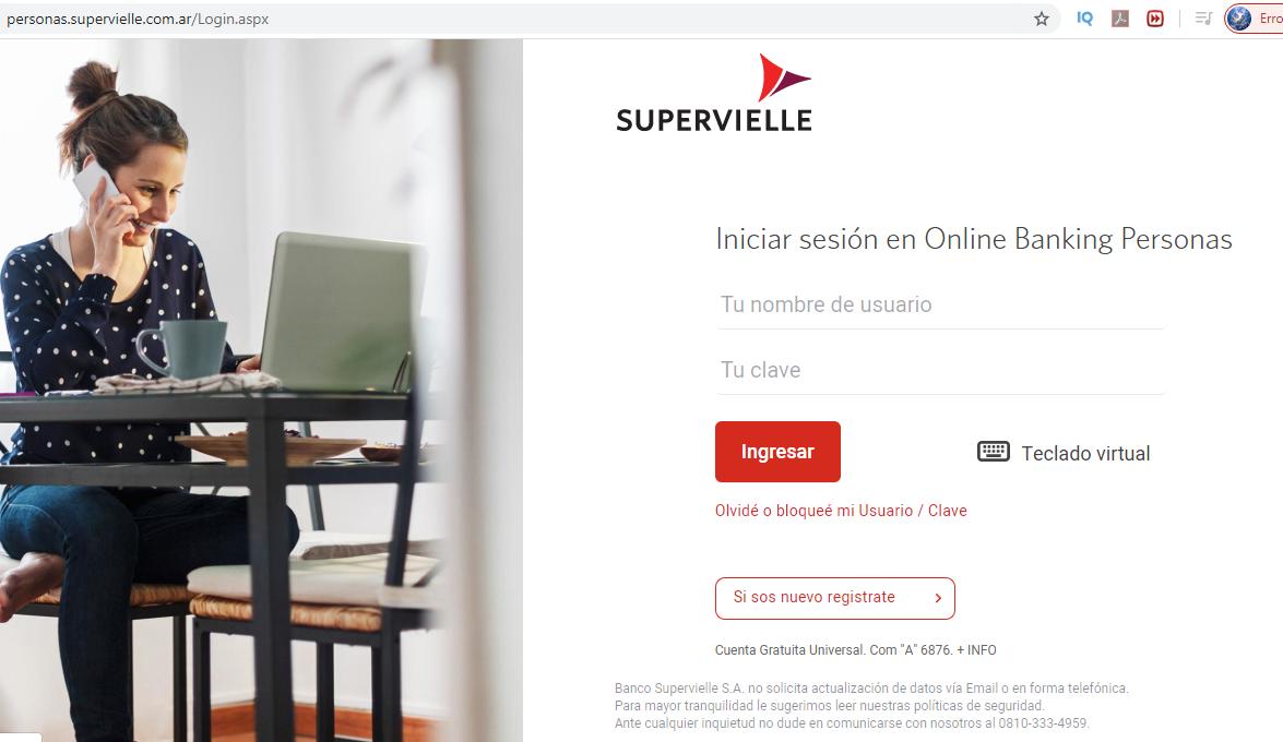 ¿Dónde Entrar A Consultar Saldo Online En Banco Supervielle?