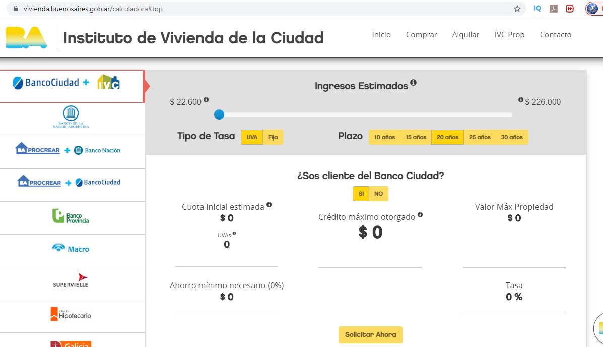 ¿Cómo Calcular Créditos Hipotecarios Banco Ciudad?