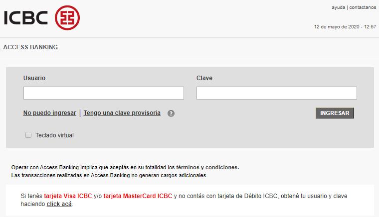 Cómo Averiguar Saldo En Banco ICBC Desde El Mobile Banking