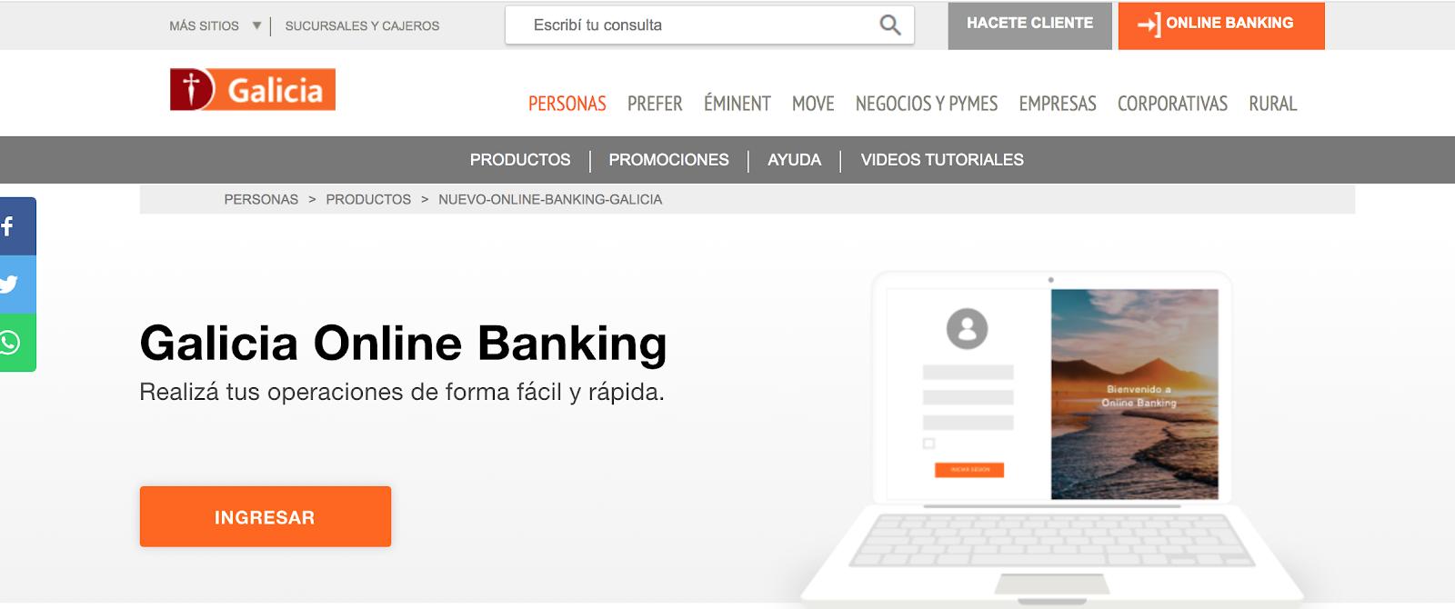 Cómo Obtener Un Crédito Hipotecario En El Banco Galicia En Línea