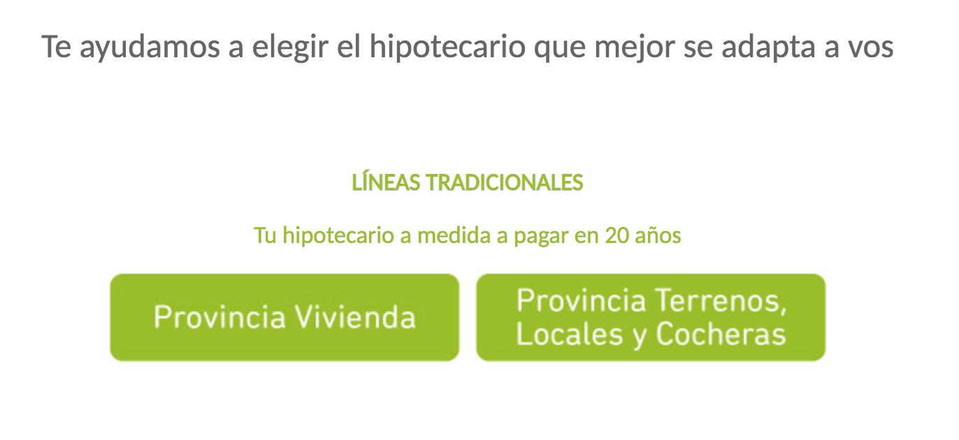 Trámite Online Para Crédito Hipotecario De Banco Provincia
